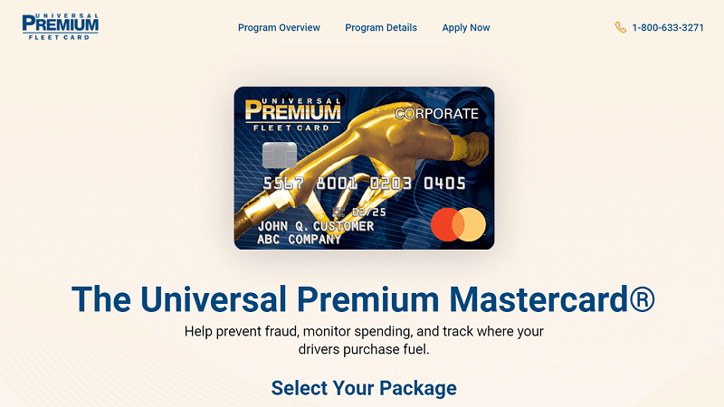 Universal Premium Fleet Card