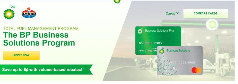 BP fleet fuel cards