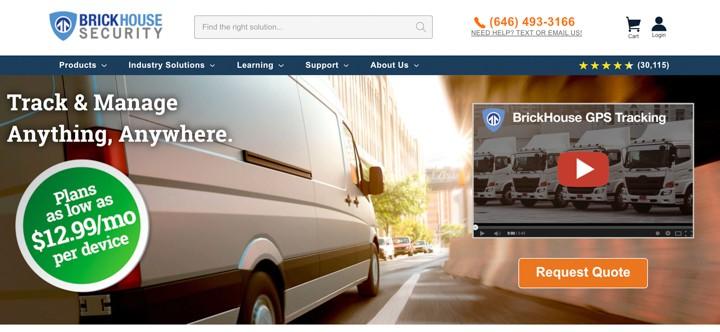 Brickhouse Security Homepage