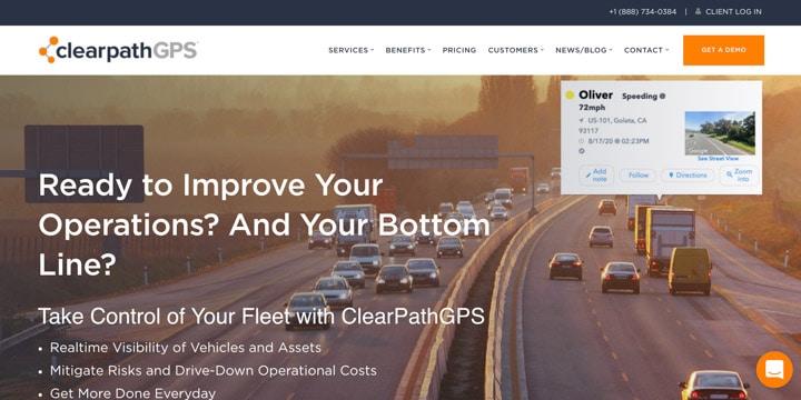 Clearpath GPS Homepage