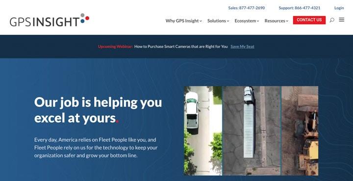 GPS Insight Homepage