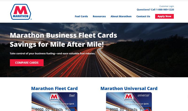 Marathon Fleet Cards