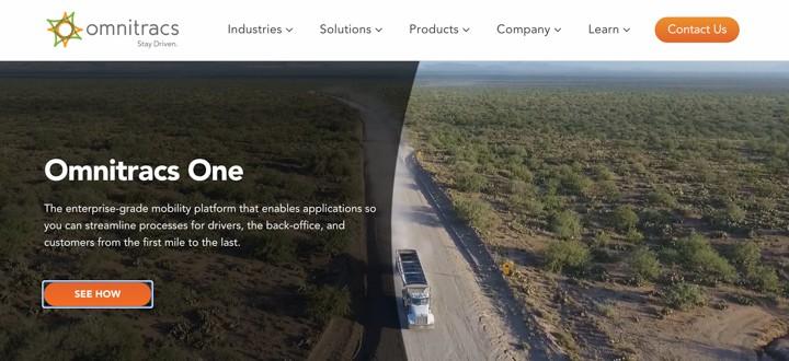 Omnitracs Homepage