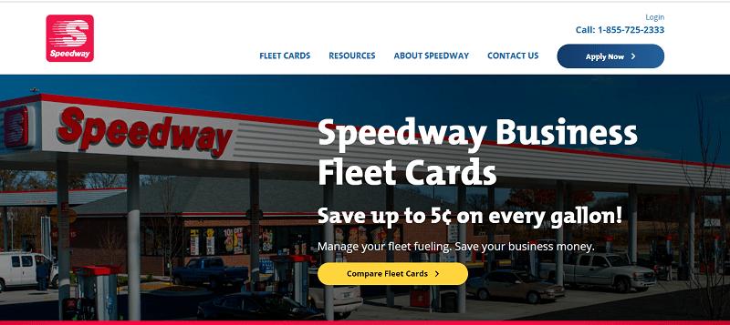 Speedway Fleet Card